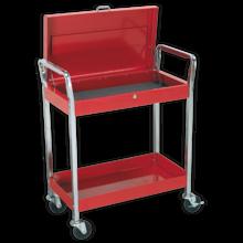 Trolley Sealey CX104 2-Level + Lockable Top