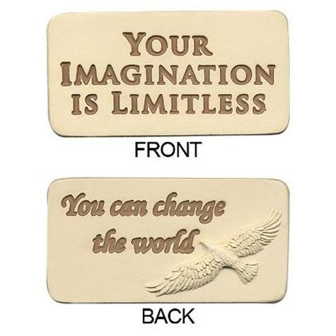 Your Imagination Is Limitless Motivational Stone (SALE)