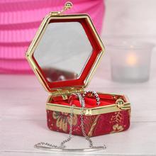 Miniature Oriental Jewellery Box