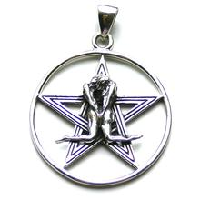Sterling Silver Perfect Harmony Pentacle Pendant by Peter Stone (SALE)