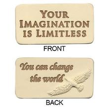 Your Imagination Is Limitless Motivational Stone