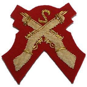 Cross Rifles SNIPER Badge Mess Dress