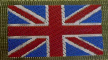 Union Jack Badge - Cloth