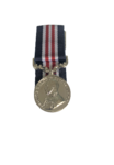 G V Military Medal Miniature Loose with ribbon only