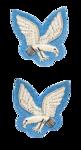 AAC  NCO`s Mess Dress Collar Badges