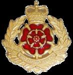 Duke of Lancaster Cap Badge