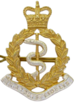 RAMC Officers Cap Badge