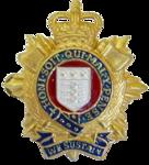 RLC Officers Cap Badge