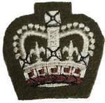 Service Dress S/SGT Crown