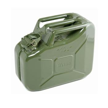 Metal Jerry Can 10 Litre Metal Jerry Can - olive green military colour