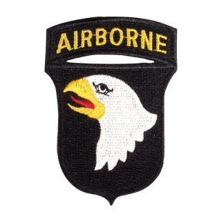 101 Airborne Patch 101st WWII U.S Screamin Eagles Cloth Badge