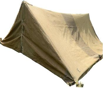 Pup Tent WWII Brtish Army Brown / Tan Canvas wartime 2 Man Pup tent  sc 1 st  iShop & Tent WWII Brtish Army Brown / Tan Canvas wartime 2 Man Pup tent