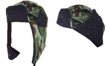 Great Fleece Camo Bomber hat great for winter mornings