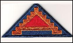US Army Cloth Patch 7th Army Spearhead