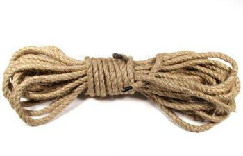 Jute Rope Old Fashioned Natural Jute Rope in 15 Metre Lengths
