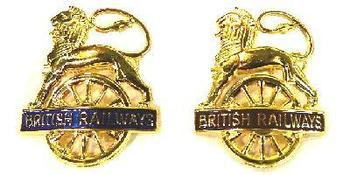 Railway Lion Over Wheel Cap badges, Different Regions