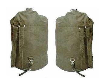 Kit Bag Sea Sack, Military Style Strong and Large Double Strap Army Kit Bag / sac, New