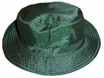 Waterproof and Lined Nylon Bush Hat Olive or Navy