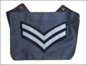 RAF Corporal / Sergeant Arm Band New Old Stock Un issued Genuine RAF Arm Band