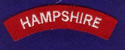 Hampshire Cloth Shoulder Title