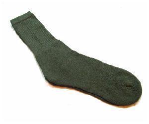 Quality Made Olive Green Barrack Socks
