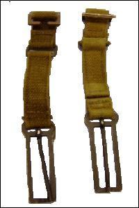 Pair of 37 Pattern Canvas Webbing Strap Extensions - set of 2