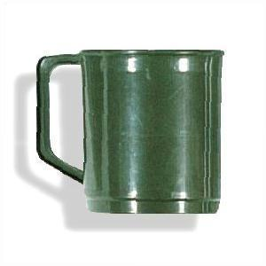 Army Style Olive Green Plastic Mugs 2 Sizes Available From.....