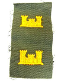 US Army Engineers Cloth Sew on Badge
