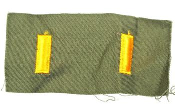 US Army Sew on Rank Badge