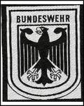 German Sew on Badge