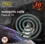 Mossie Coil / Mosquito Coils, Pack Of 10 Mosquito Repelent Coils
