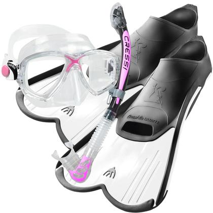 2cec695530fb Cressi Dry and Light Snorkelling Set