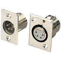 4 Pin Xlr Connectors Socket