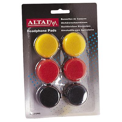 Colored 40mm Replacement Earphone Pad x 3 Pairs