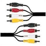 4x RCA Phono Plugs To 4x RCA Phono Plugs 1.2M