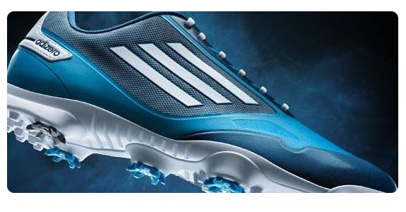Adidas adiZero One Golf Shoes Blue/Aqua