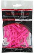 Golfers Club Neon Pink Step Height Tees (25 Tee Pack)